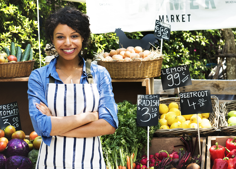 How to thrive as a vendor at a farmer's market